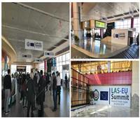القمة العربية الأوروبية| مطار شرم الشيخ يتزين لاستقبال الوفود.. وأحد المتطوعين: «رسالة للعالم»
