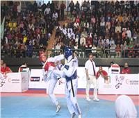 هداية ملاك تتأهل لنهائي بطولة مصر الدولية للتايكوندو G2