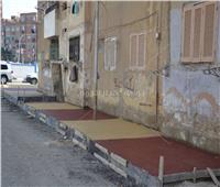 «صقر» يتفقد تطوير ضواحي حي الأربعين وتعاونيات فيصل بالسويس