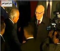 وصول الرئيس التونسي لحضور القمة العربية الأوروبية بشرم الشيخ