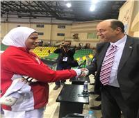 هداية ملاك: الفوز بذهبية مصر الدولية خطوة لتحقيق ميدالية بطوكيو 202