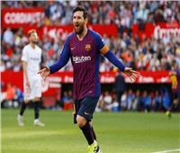 شاهد| هاتريك ميسي الـ 50 يزين فوز برشلونة على إشبيلية