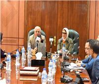 وزيرة الصحة: تجهيز أكثر من 35 وحدة صحية في بورسعيد