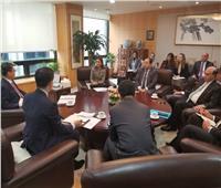 «مميش» يبحث التعاون الاقتصادي مع رئيس «بنك التصدير الكوري»