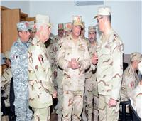 وزير الدفاع يتفقد أعمال تطوير معهد نظم المعلومات للقوات المسلحة ويفتتح عددا من المنشآت الجديدة