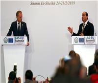 القمة العربية الأوروبية| السيسي: لن تعلمونا انسانيتنا احترموا اخلاقيتنا كما نحترمكم