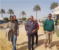 الخطيب يتفقد المنشآت الجديدة في فرع الأهلي بمدينة نصر