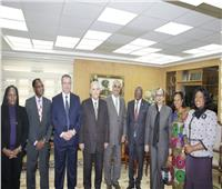وزير العدل يستقبل أعضاء المجلس الاستشاري لمكافحة الفساد بالإتحاد الإفريقي