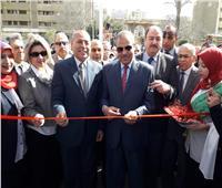صور| رئيس جامعة الأزهر يفتتح أعمال التطوير بفرع البنات