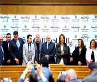 غادة والي توقع بروتوكولات تعاون مع جمعيات الشريكة في مبادرة «حياة كريمة»