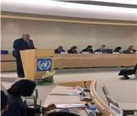 وزير الخارجية: البعض حول مجلس حقوق الإنسان لساحة تصفية حسابات سياسية