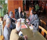 وزير الري ورئيس هيئة المساحة يبحثان بدء تطبيق «كارت الفلاح»