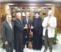 الأنبا أرميا يهنئ «الأمير» بتوليه منصب نائب رئيس جامعة الأزهر