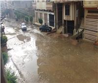 أمطار غزيرة على دمياط واستمرار حركة الصيد والملاحة