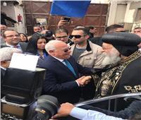 البابا تواضروس يصل بورسعيدفي أول زيارة له