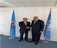 وزير الخارجية يلتقي السكرتير العام للاتحاد الدولي للاتصالات في جنيف