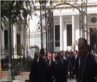مدبولي يستقبل الرئيس الألباني بمقر الحكومة