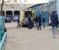 صور| وصول أشلاء جثث ضحايا «قطار محطة مصر» مشرحة زينهم