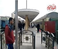 فيديو| انتظام حركة القطارات في اليوم الثاني لحادث «محطة مصر»