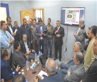 قافلة طبية وإعلامية لمحو الأمية وتعليم الكبار بإحدى قرى المنيا
