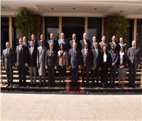 رئيس هيئة الرقابة الإدارية يلتقي وفدا من أعضاء المجلس الاستشاري لمكافحة الفساد بالاتحاد الأفريقي
