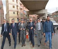 صور| جولة لمحافظ الجيزة ورئيس «محلية النواب» ببولاق الدكرور