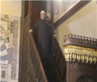 خطيب الجامع الأزهر: التراحم والمودة يسهم في بناء المجتمعات ويصنع قوتها
