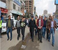 صور| محافظ الجيزة يتفقد أعمال تطوير شارع مصر306 بالدقى