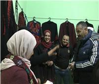 افتتاح معرض التراث السيناوي بمركز شباب ضاحية السلام بالعريش