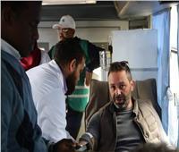 وزير الرياضة يدعو لحملة تبرع بالدم لصالح مصابي حريق محطة مصر