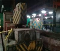 بعد قليل  رفع جرار محطة مصر.. والبحث عن ضحايا تحت الحطام