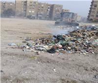 صور  حملة نظافة في حلوان حول قصر خديجة والكابريتاج العلاجي