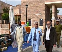 نائب وزيرة التخطيط يتفقد عدد من المشروعات بمحافظة أسوان