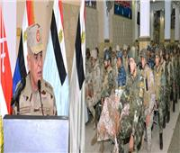 رئيس الأركان: تضحيات أبطال الجيش والشرطة مهدت الطريق لتنمية سيناء