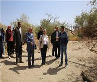 صور|وزيرة البيئة تتفقد محمية سالوجا وغزال بأسوان