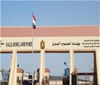 عودة 291 مصريًا من ليبيا وعبور 513 شاحنة عبر منفذ السلوم