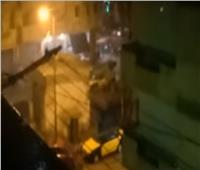 فيديو|  أمطار غزيرة على محافظة الإسكندرية