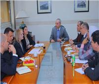 صور| نائب وزير النقل يبحث مع وفد البنك الأوروبي التعاون في السكة الحديد والمترو