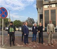 محافظ القاهرة: رفع تراكمات مياه الأمطار بالتنسيق مع «الصرف الصحي»