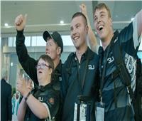 الفريق النيوزيلندي يصل الإمارات للمشاركة بالألعاب العالمية للأولمبياد الخاص