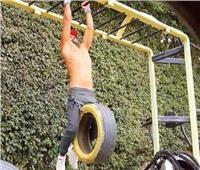 محمد إمام يواصل تدريباته البدنية من أجل مسلسل «هوجان»