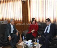 افتتاح مصنع الدقهلية للأعلاف بالمنطقة السابعة بمدينة السادات