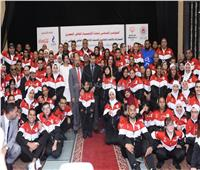 صور| وزير الرياضة: نسعى لتحقيق إنجازات في «الألعاب العالمية للأولمبياد»