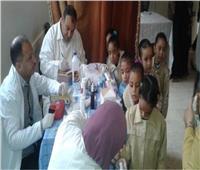 فحص 2700 طالب لعلاج أمراض سوء التغذية والتقزم بشمال سيناء