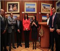 صور| وزيرة السياحة تنظم حفلا على هامش بورصة برلين للسياحة