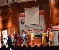 انطلاق حفل توزيع جوائزمؤتمر القاهرة الدولي للريادة