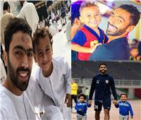صور| حسين الشحات يحتفل بعيد ميلاد ابنه على إنستجرام