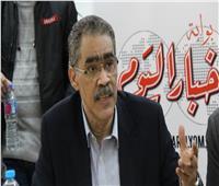 «رشوان» وسط صحفيي «بوابة أخبار اليوم»: الدولة تدعم الصحافة.. وترشحت لأعيد هيبة المهنة