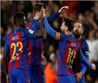برشلونة يفوز بثلاثية على رايو فاليكانو في الليجا
