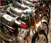 ضبط عصابة سرقة الدراجات النارية بأسيوط
